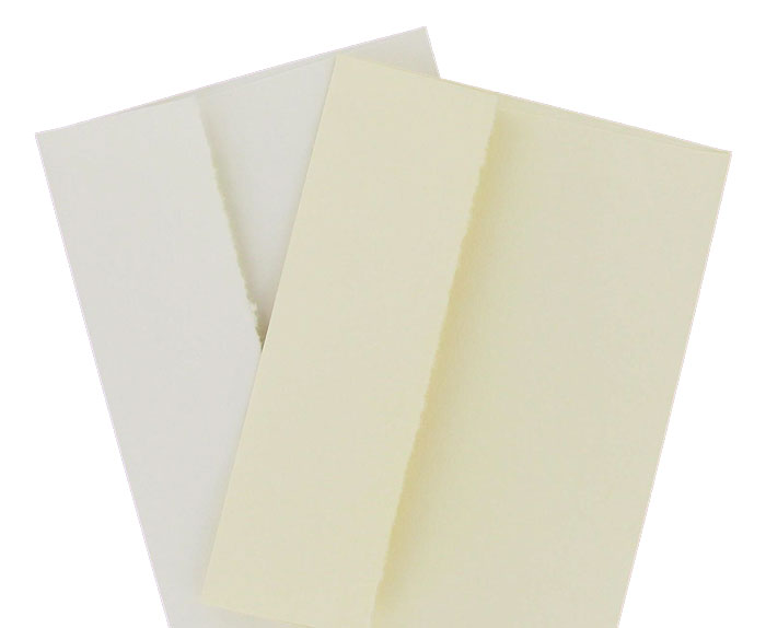 A6 SOCIAL ENVELOPES WHITE LINEN 25s
