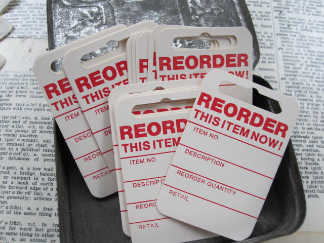 Re-order Tags