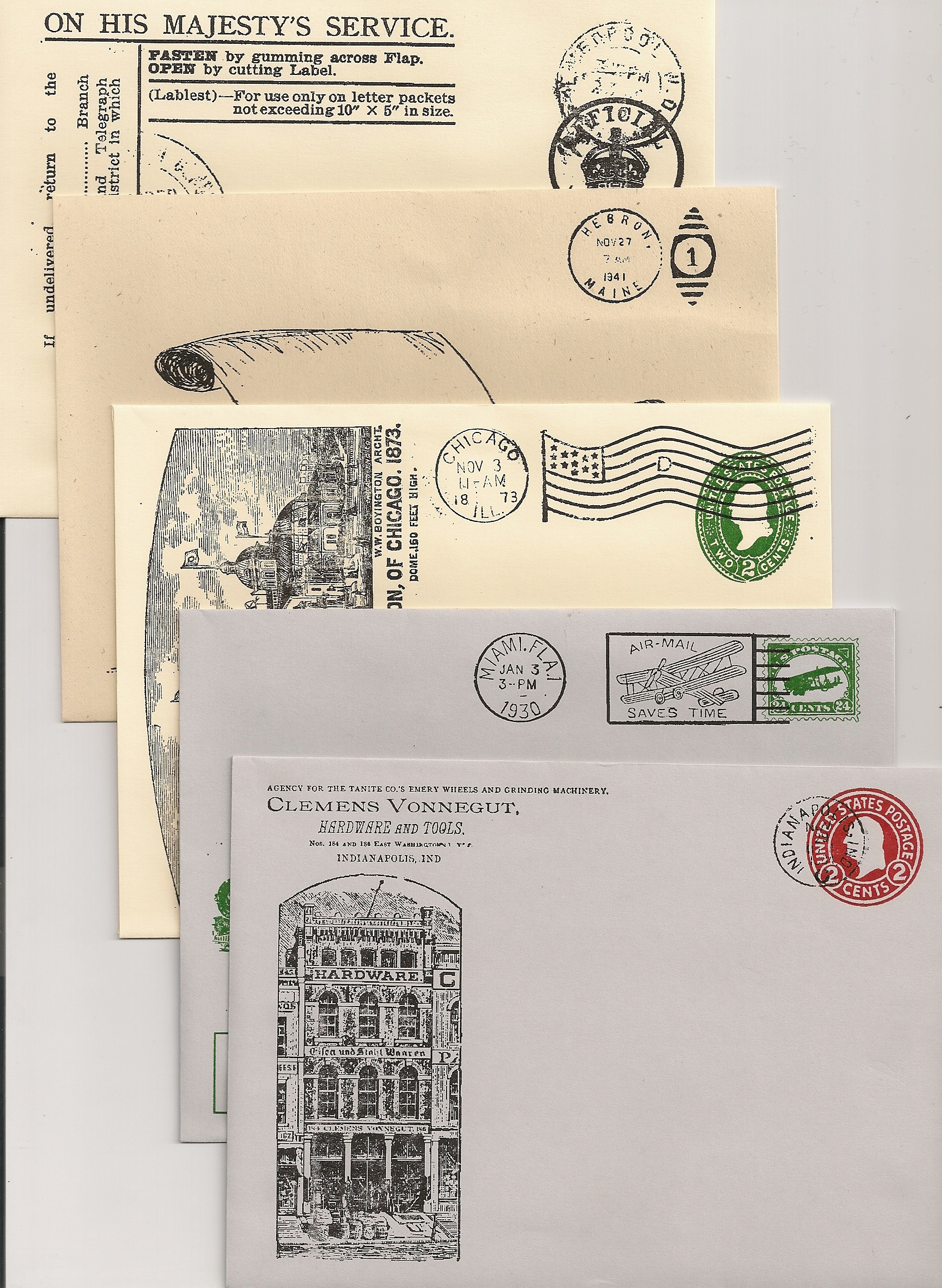 HISTORICAL ENVELOPE ASSORTED STYLES (6-1/2X4-3/4) 100/pk