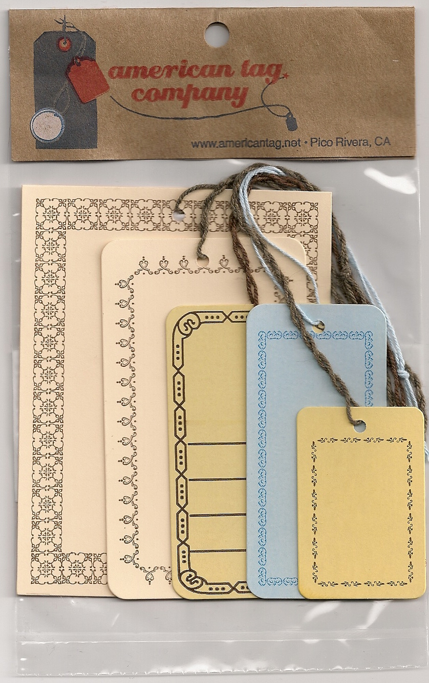 BORDER TAGS ASSORTED STYLES 24/PK