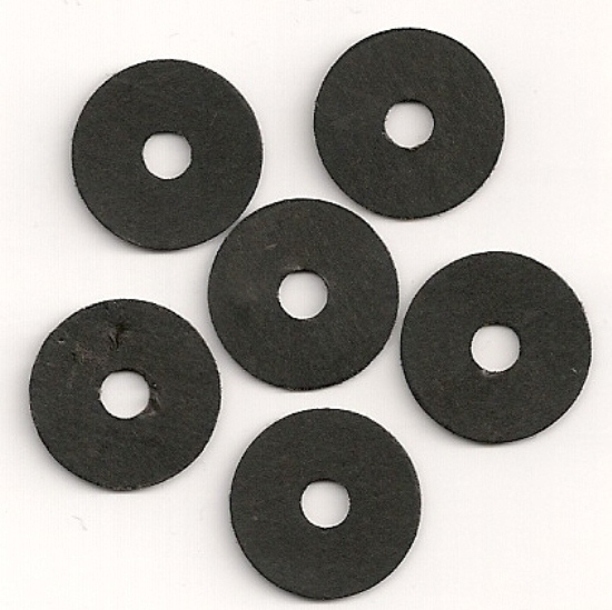 "5/8"" BUTTON BLACK (BOARD) 25/PK"