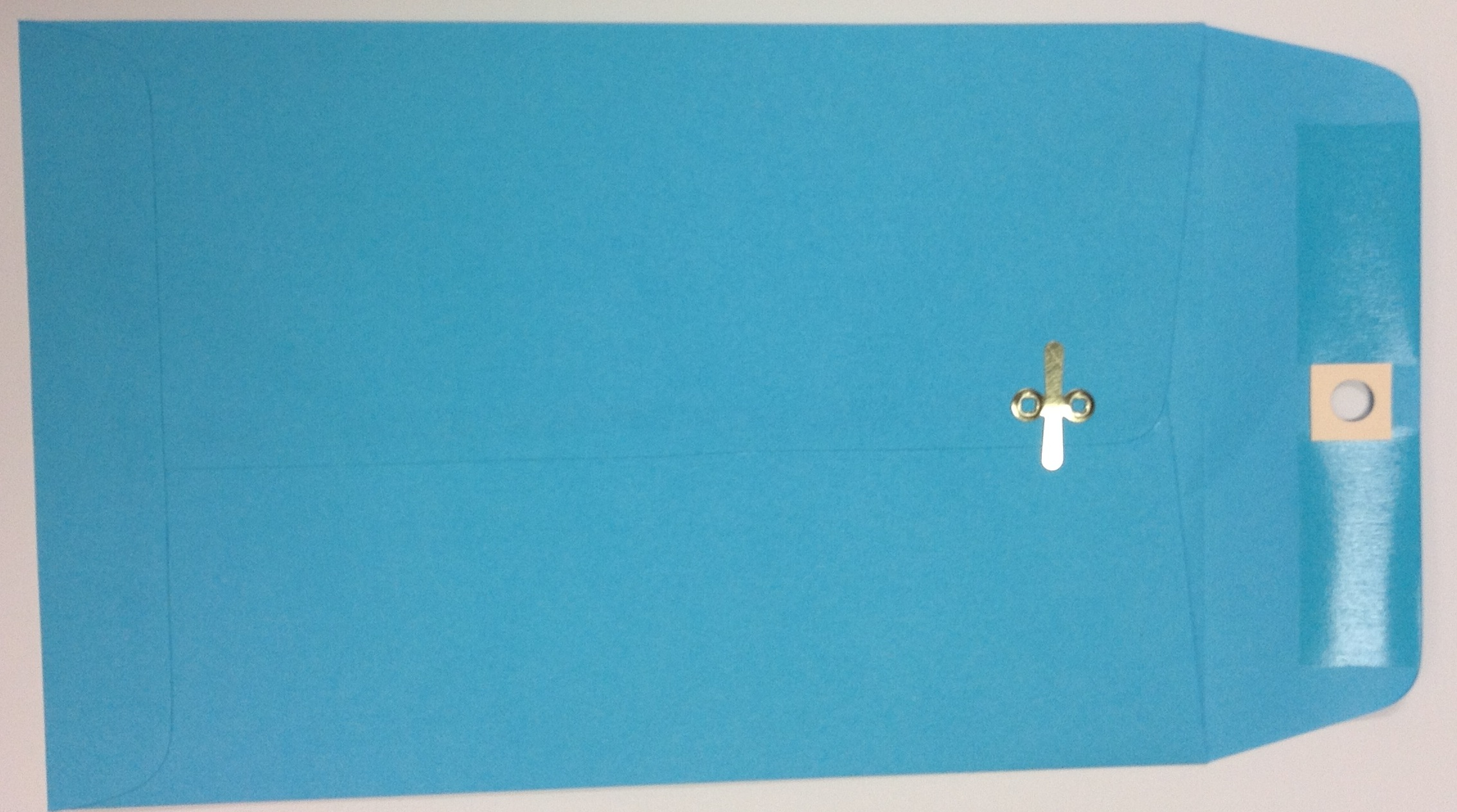 6X9 CLASP ENVELOPES BRIGHT BLUE 10s