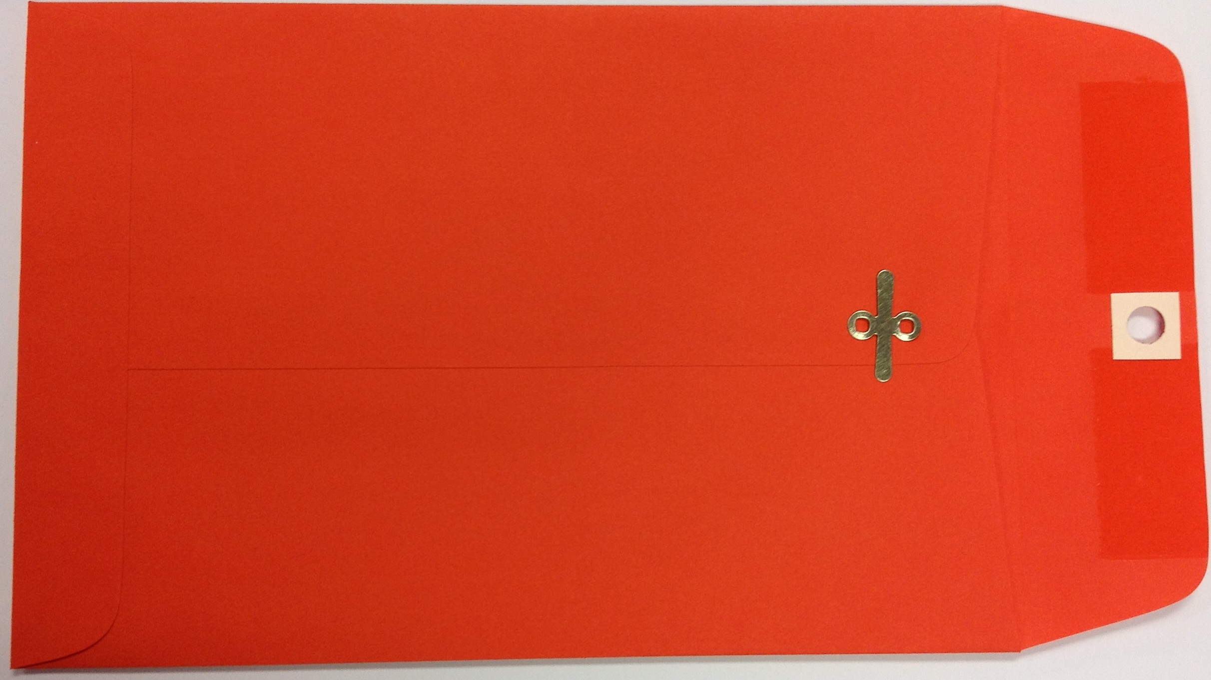 6X9 CLASP ENVELOPES ORANGE 10s