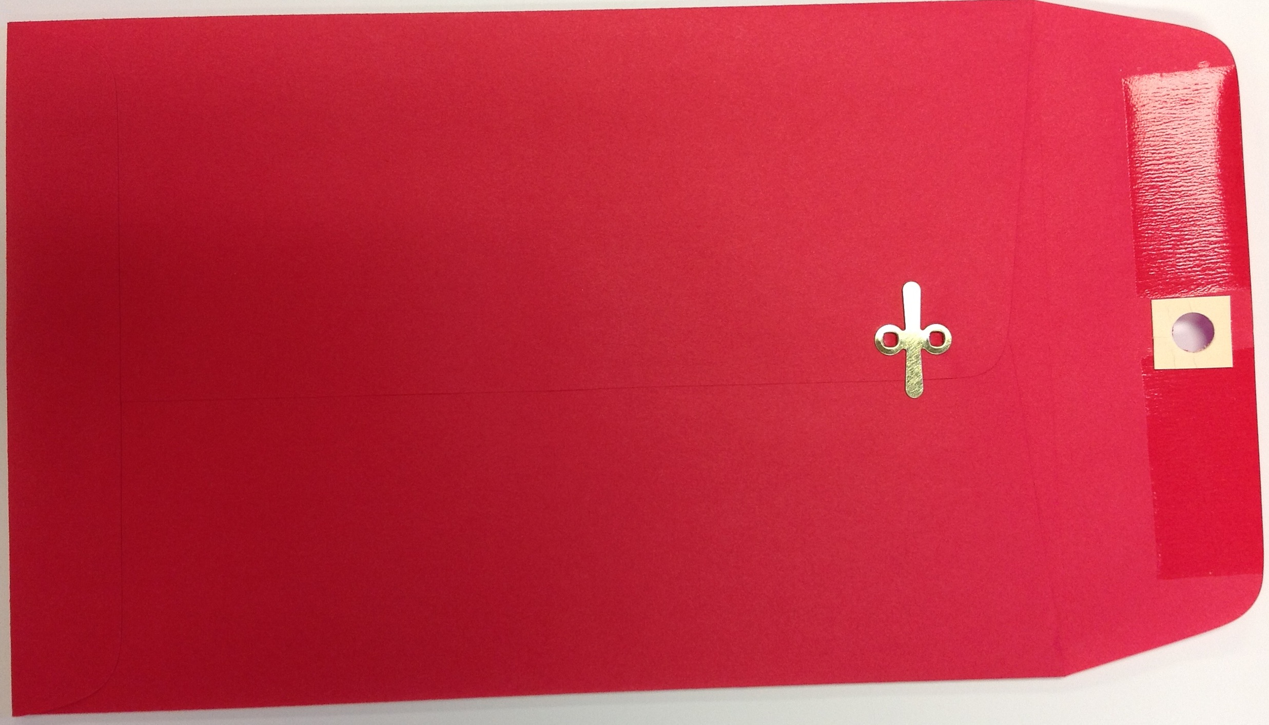 9X12 CLASP ENVELOPES RED 25s